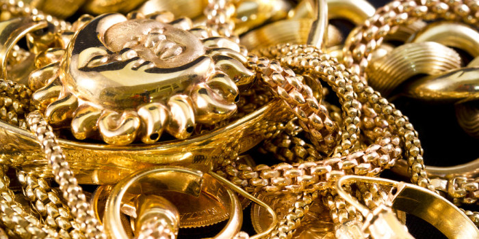 What gold jewellery can you sell?